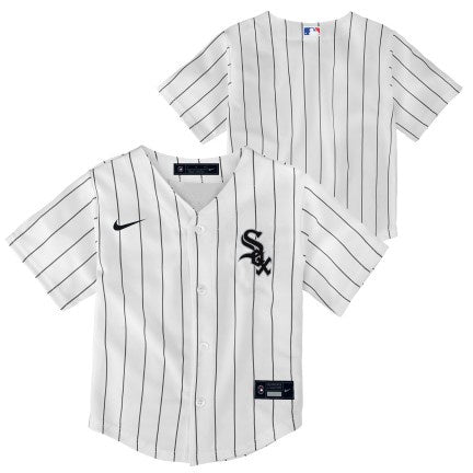 Toddler Chicago White Sox Nike White Home Replica Team Jersey