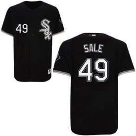 Chris Sale Chicago White Sox Authentic Polyester Alternate Jersey