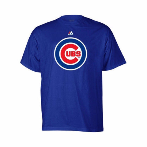 Majestic Chicago Cubs Youth Blue Primary Team Logo T-Shirt