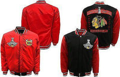 Mens Chicago Blackhawks Reversible 2015 Stanley Cup Champions Jacket