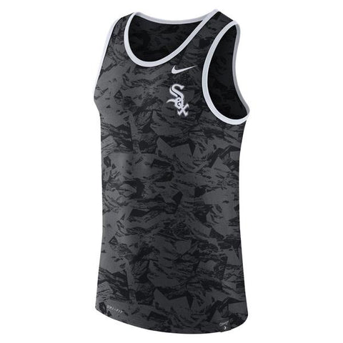 Chicago White Sox Nike Premium Performance Tank Top - Anthracite