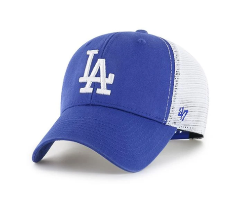'47 Brand Los Angeles Dodgers Royal/White Flagship Wash Adjustable Mesh Back Hat