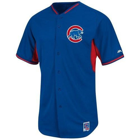 Chicago Cubs Authentic MLB14/15 Cool Base BP Jersey