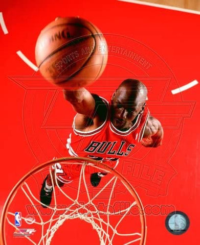 Chicago Bulls Michael Jordan 8x10 1995 Dunk Photo