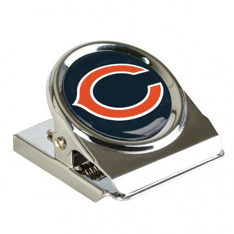 Chicago Bears Metal Magnet Clip By Wincraft