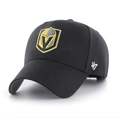 47 Brand Vegas Golden Knights Black MVP Adjustable Hat