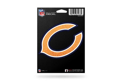 "Chicago Bears ""C"" Logo Shimmer Die Cut Decal"