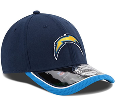 New Era San Diego Chargers 39THIRTY NFL  On-Field Performance Flex Hat