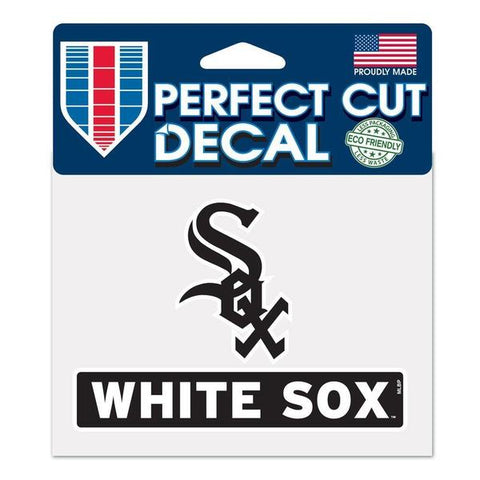 "Chicago White Sox MLB 4.5"" X 5.75"" Perfect Cut Decal"