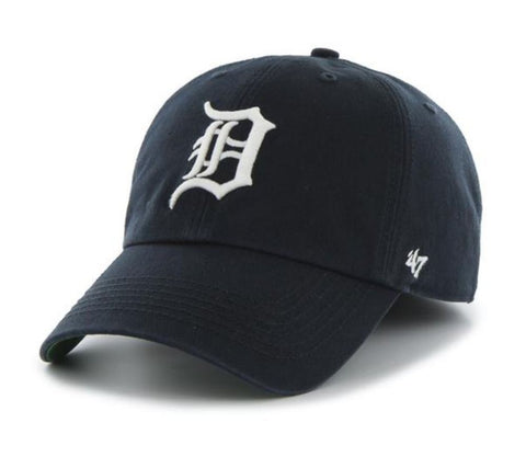 '47 Detroit Tigers Navy Home Franchise Fitted Dad Hat