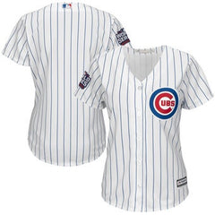 Chicago Cubs Majestic Women's 2016 World Series Bound Home Cool Base Team Jersey