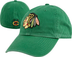 '47 Brand Chicago Blackhawks Kelly Green Slouch Fitted Hat