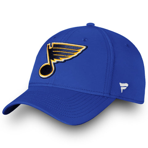 Men's St. Louis Blues Primary Logo Fanatics Flex Hat