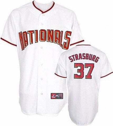Youth Washington Nationals Stephen Strasburg Home Replica Player Jersey