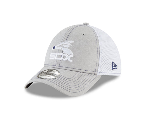 premium selection 879e5 71d27 Men s Chicago White Sox Batterman Logo New Era Gray White Classic Shade Neo  39THIRTY Flex