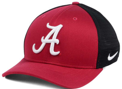 Alabama Crimson Tide Nike Aero Curved Bill Mesh Back Flex Fit Hat