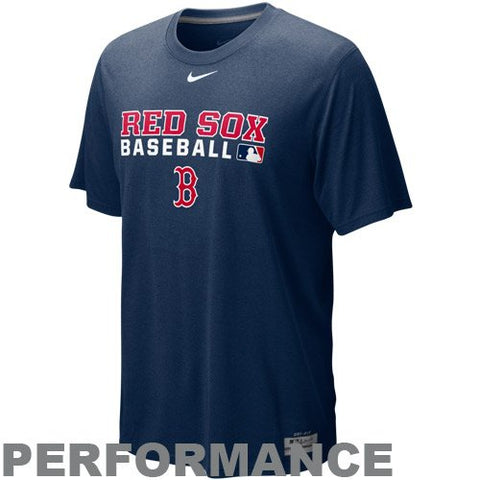 Nike Boston Red Sox Navy Blue Team Issue Legend Performance T-shirt