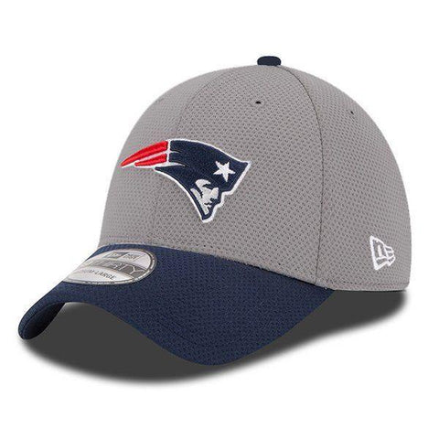 Patriots NFL15 Training Camp Gray 39Thirty Flex Fit Hat