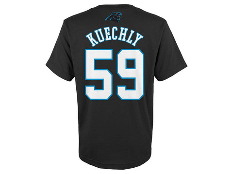Luke Kuechly Carolina Panthers Youth Mainliner Name and Number T-Shirt