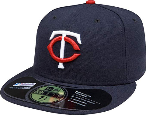 MLB Minnesota Twins Home AC On Field 59Fifty Fitted Cap