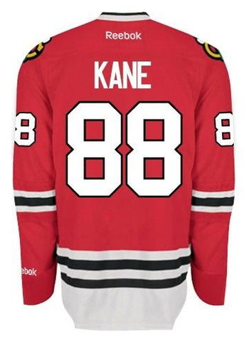 Mens Chicago Blackhawks Patrick Kane Edge 2 Authentic Home Jersey by Reebok