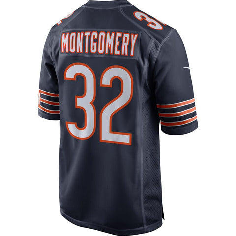 Youth Nike David Montgomery Navy Chicago Bears Game Jersey