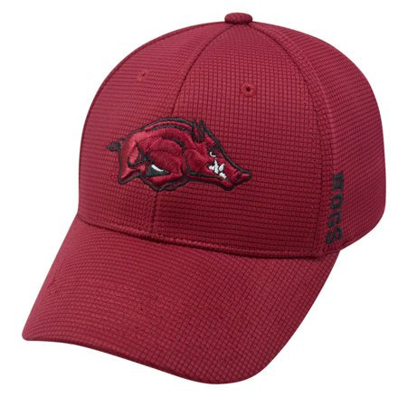Arkansas Razorbacks Official NCAA One Fit hat by Top of the World