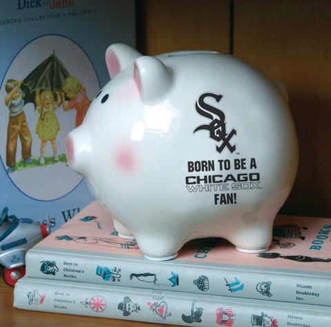 Born to Be Chicago White Sox Piggy Bank