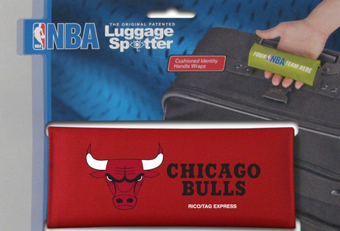 Chicago Bulls NBA Luggage Spotter