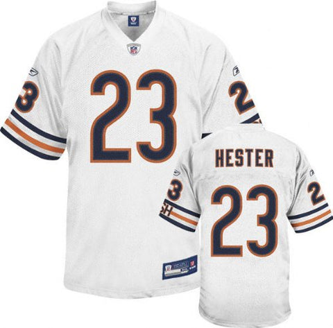 Devin Hester Chicago Bears Authentic White NFL Jersey