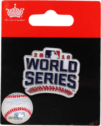 Chicago Cubs 2016 World Series Collectors Lapel Pin