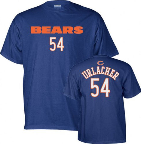 Brian Urlacher Reebok Player Name and Number Chicago Bears Youth T-Shirt