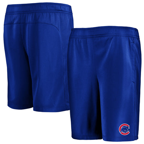 Youth Chicago Cubs Under Armour LG Logo Heatgear Shorts