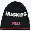 adidas Northern Illinois Huskies NCAA Black Sideline Coach Cuffed Knit Hat