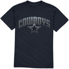 Dallas Cowboys Youth Navy Ascender T-Shirt
