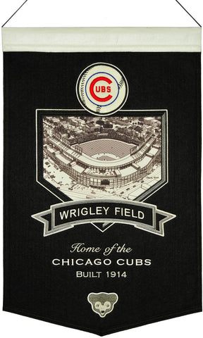 MLB Chicago Cubs Stadium Collection Banner