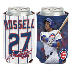 Addison Russell Chicago Cubs 2 Sided 12 oz. Can Cooler By Wincraft