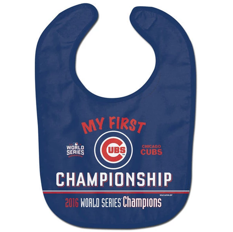 Infant MLB Chicago Cubs WinCraft 2016 World Series Champions All Pro Bib