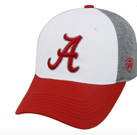 Alabama Crimson Tide Hustle Stretch One Fit Hat By Top Of The World