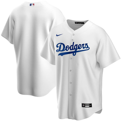Men's Los Angeles Dodgers Nike White Home Replica Team Jersey