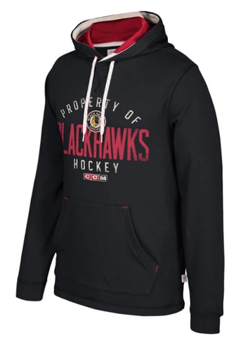 Men's Chicago Blackhawks CCM Casual Pullover Hoodie