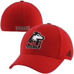 adidas Northern Illinois Huskies Basic Logo Flex Hat