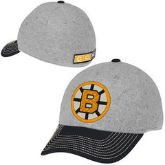 CCM Boston Bruins Winter Structured Spin Flex Hat - Ash/Black