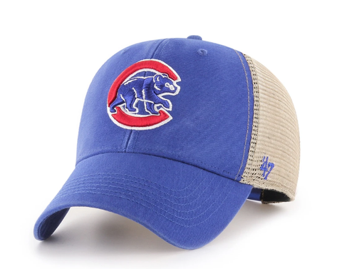 '47 Brand Chicago Cubs Flagship Wash Adjustable Mesh Back Hat