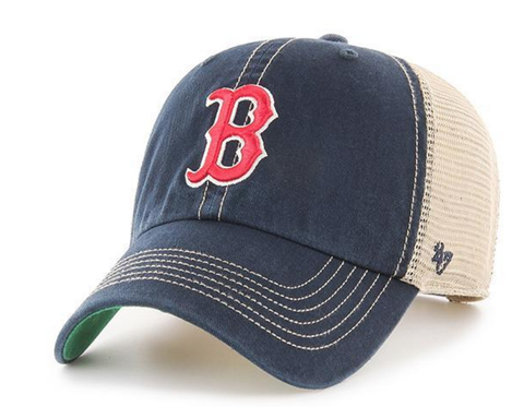 Men's Boston Red Sox Trawler Adjustable Hat By '47 Brand