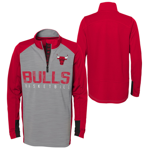 Child Chicago Bulls Shooter Long Sleeve 1/4 Zip