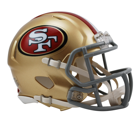 San Francisco 49ers Speed Mini Helmet