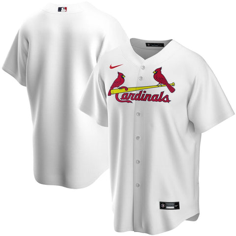Men's St. Louis Cardinals Nike White Home Replica Team Jersey