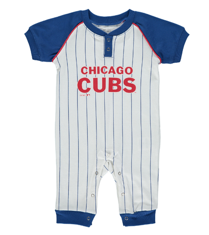 Newborn & Infant Chicago Cubs White/Royal Game Time Jumper
