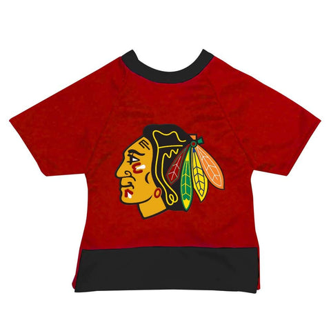 All Star Dogs Chicago Blackhawks Pet Mesh Sports Jersey